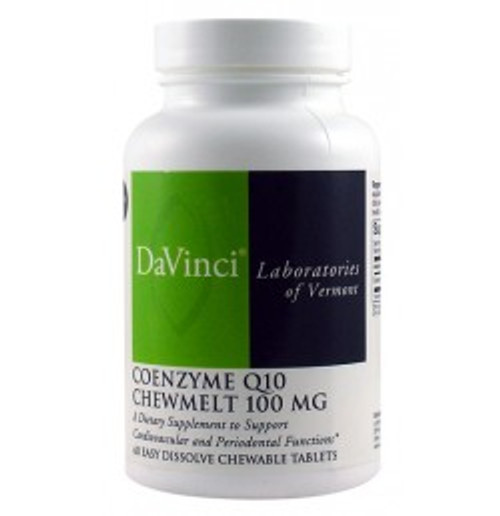 Coenzyme Q10 ChewMelt 100 mg 60 Chewables (0200398.060)