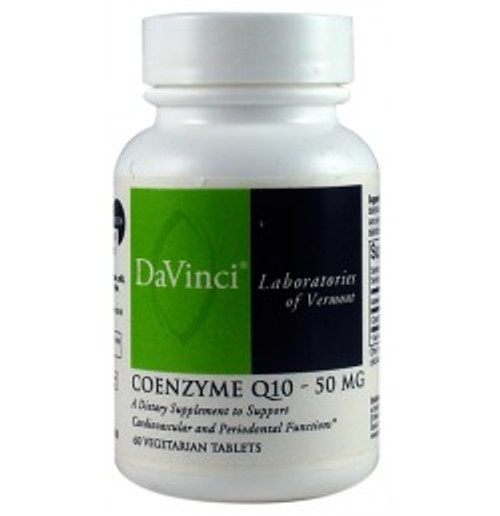 Coenzyme Q10 50 mg 60 Tablets (0200324.060)