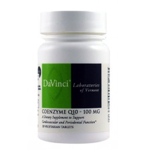 Coenzyme Q10 100 mg 30 Tablets (0200327.030)