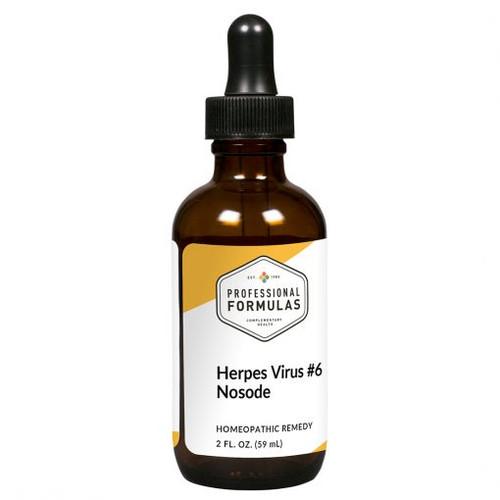 Herpes Virus #6 Nosode 2 FL. OZ. (59 mL)