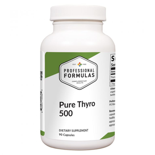 Pure Thyro 500 90 caps