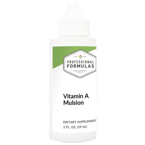 Vitamin A Mulsion 2 FL. OZ. (59 mL) (PF - 58208)