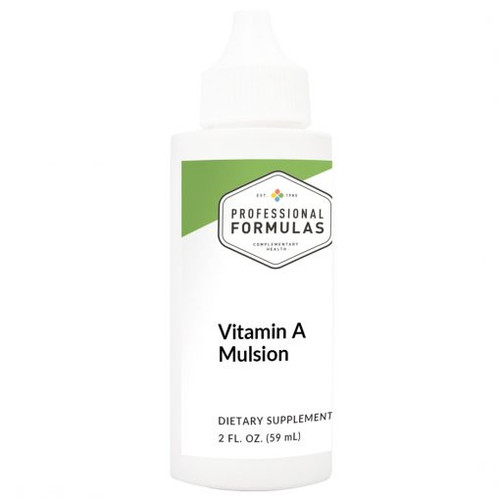 Vitamin A Mulsion 2 FL. OZ. (59 mL)