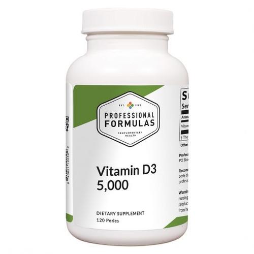 Vitamin D3 5,000 120 perles