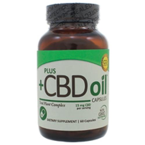 PlusCBD Oil Caps 15mg