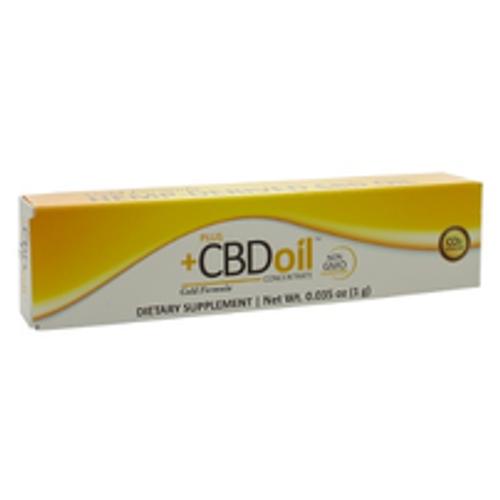 PlusCBD Gold Oil Click Applicator 1g