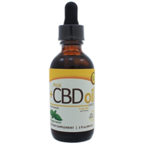 PlusCBD Oil Drops - Peppermint 750mg