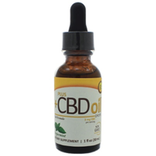 PlusCBD Oil Drops - Peppermint 250mg