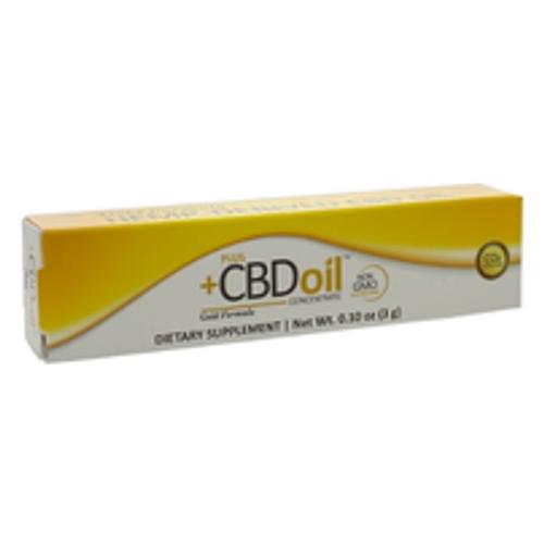 PlusCBD Oil Gold Click Applicator 3g