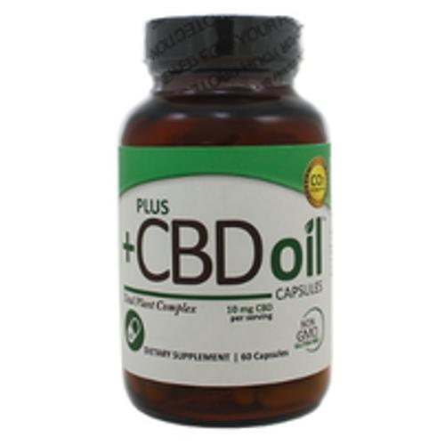 PlusCBD Oil Caps 10mg 60