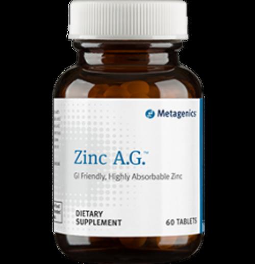 Zinc A.G. 60 Tablets (ZN025)