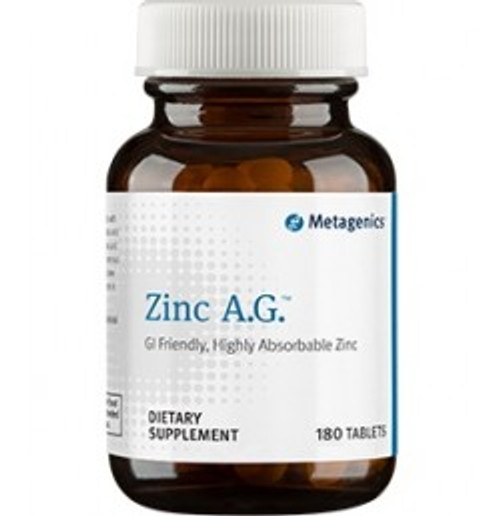 Zinc A.G. 180 Tablets (ZN026)