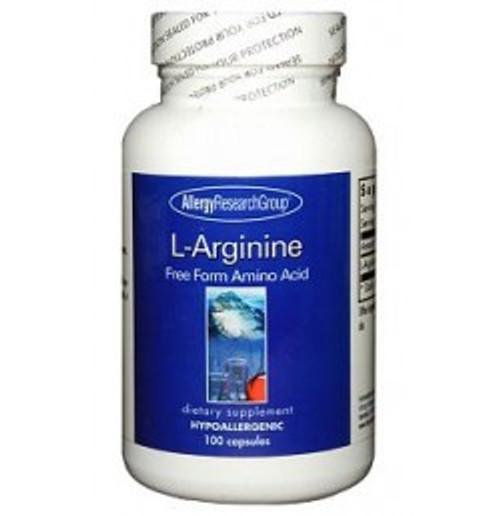 L-Arginine 100 Capsules (70580)