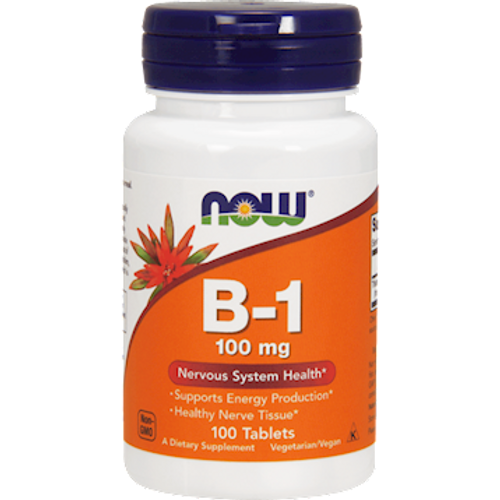 NOW  Vitamin B-1 100 mg Tablets