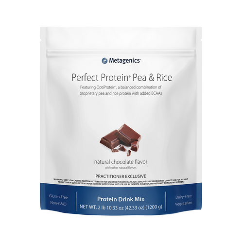 Metagenics Perfect Protein Pea and Rice Choc