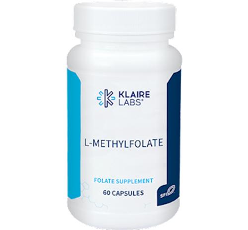 Klaire Labs L-MethylFolate 60 caps