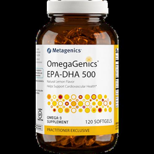 OmegaGenics EPA-DHA 500 120 Softgels