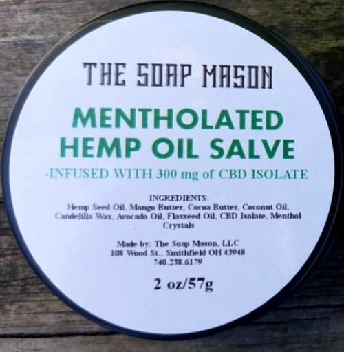 MENTHOLATED CBD INFUSED HEMP BALM