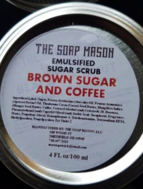 BROWN SUGAR & COFFEE SUGAR SCRUB