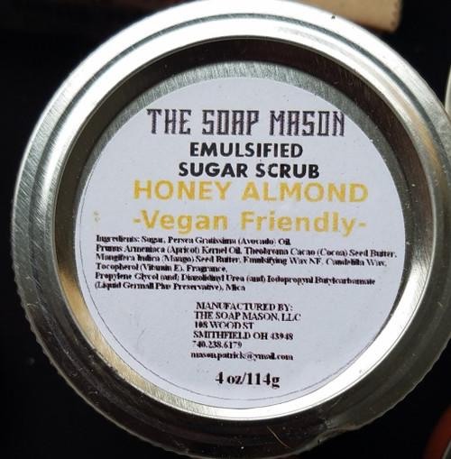 Honey Almond Sugar Scrub