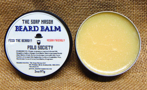 BEARD BALM - POLO SOCIETY
