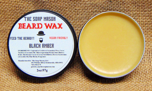 BEARD WAX - BLACK AMBER