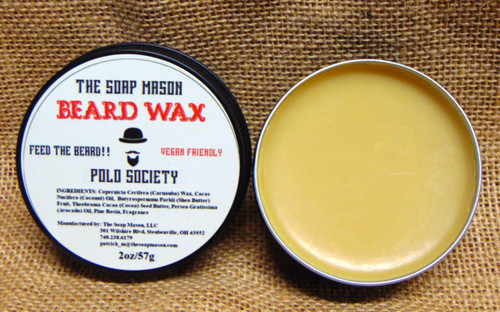 BEARD WAX - POLO SOCIETY