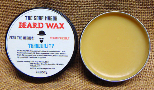 BEARD WAX - TRANQUILITY