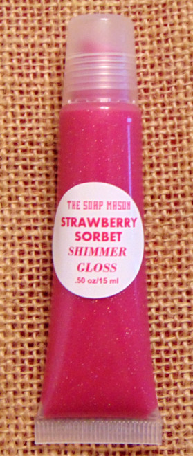 STRAWBERRY SORBET SHIMMER GLOSS