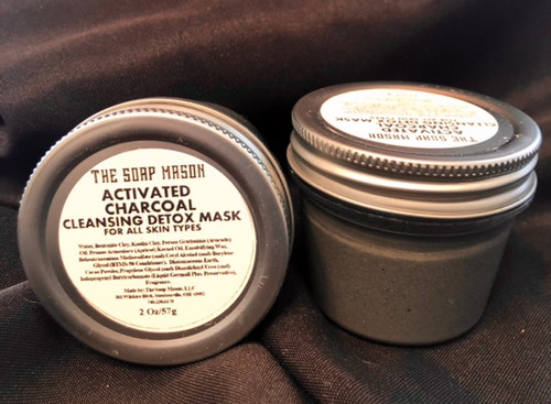 ACTIVATED CHARCOAL CLEANSING DETOX MASK