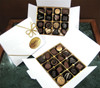 White gift box - 16 chocolates $36.50