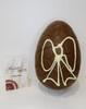Hollow milk chocolate art Easter egg