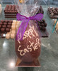 """""""Happy Easter"""" hollow milk chocolate egg"""