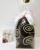 Hollow Dark chocolate art Easter egg 165mm high