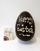 """Happy Easter"" hollow dark chocolate egg"