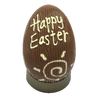 Large milk chocolate Happy Easter egg