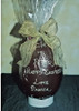 Personalised hollow milk chocolate egg 215mm $39.00