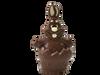 """""""Mr. Cuddles"""" Easter egg rabbit - milk 120mm $9.90"""