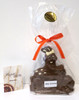 """""""Miss Scooter"""" Easter rabbit - milk chocolate"""