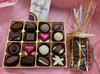 mothers  day, white box, chocolates, florentines