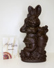 """Beach Bunny"" Easter rabbit - plain dark - vegan 200mm - $27.50"
