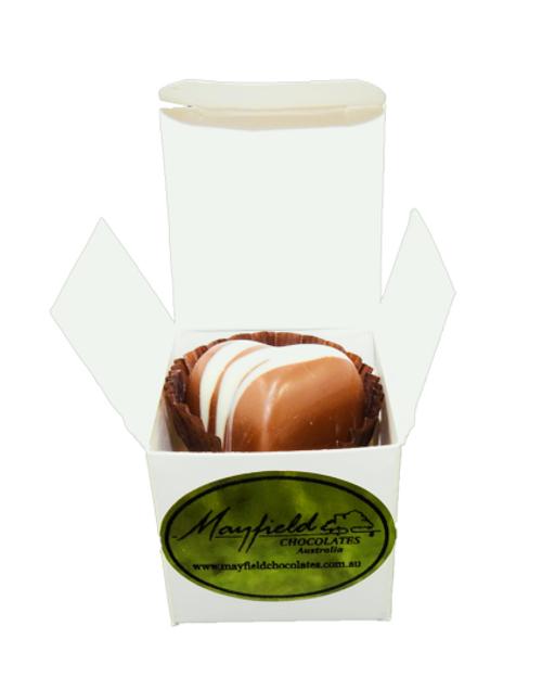 White box - 1 chocolate $2.90