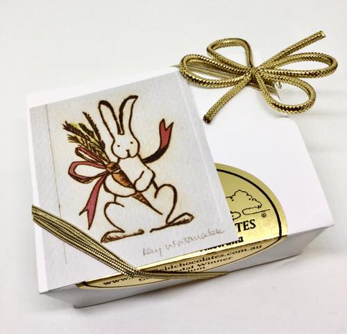 White Easter gift box - 4 chocolates $9.90