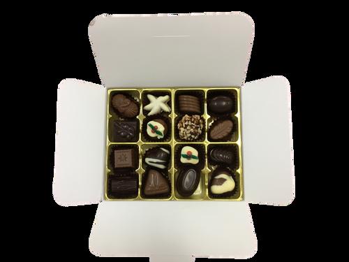 White box - 16 chocolates - Australian Christmas Selection $36.50
