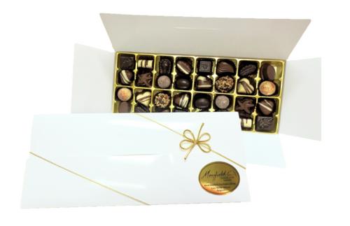 White gift box - 32 chocolates $67.50