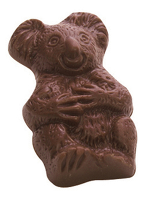 Kangaroo & Koala (pair) - soft buttery caramel in milk chocolate $6.00/pr