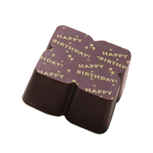HAPPY BIRTHDAY Solid Milk chocolate