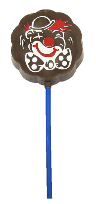 Lollipop milk chocolate - Clown $4.00