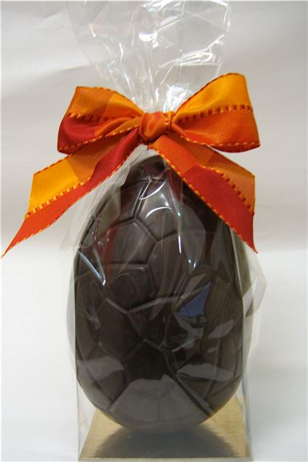 Plain dark chocolate hollow egg - 165mm high $21.00
