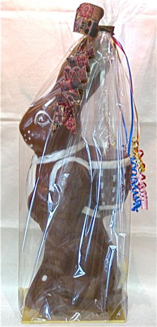 Handsome Harry Hare - dark chocolate - 620mm $175.00